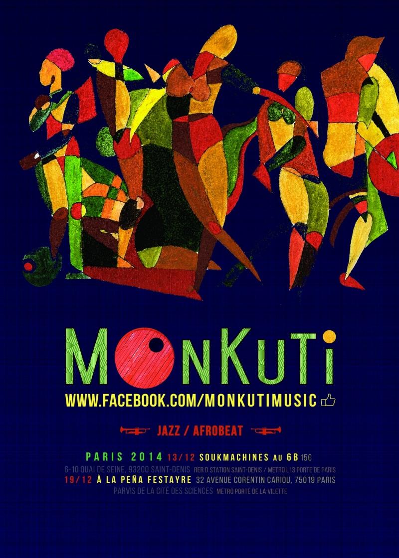 affiche MONKUTI