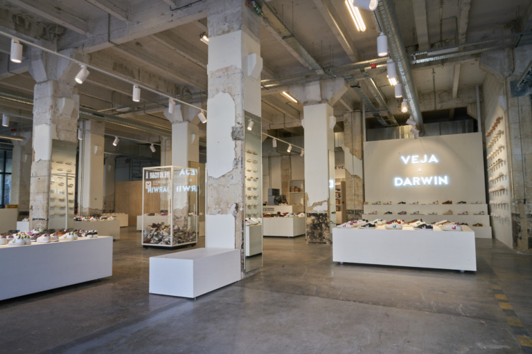 boutique VEJA x DARWIN